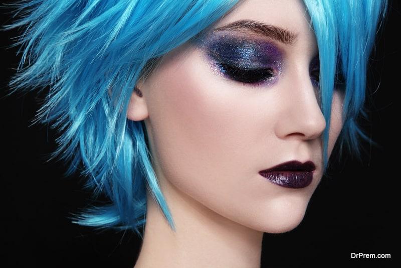 Technicolor eyeshadow