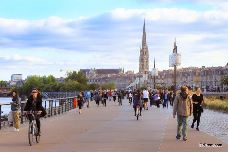 Bordeaux city, France