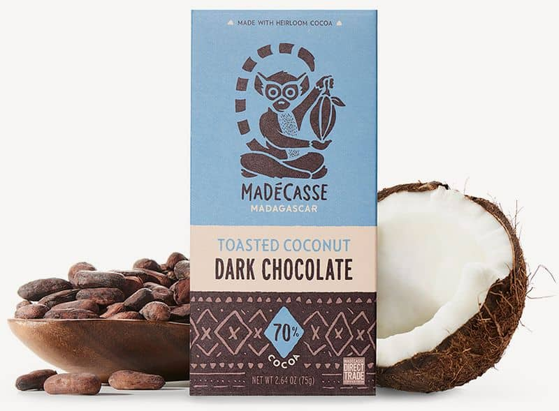 Madécasse Toasted Coconut Dark Chocolate