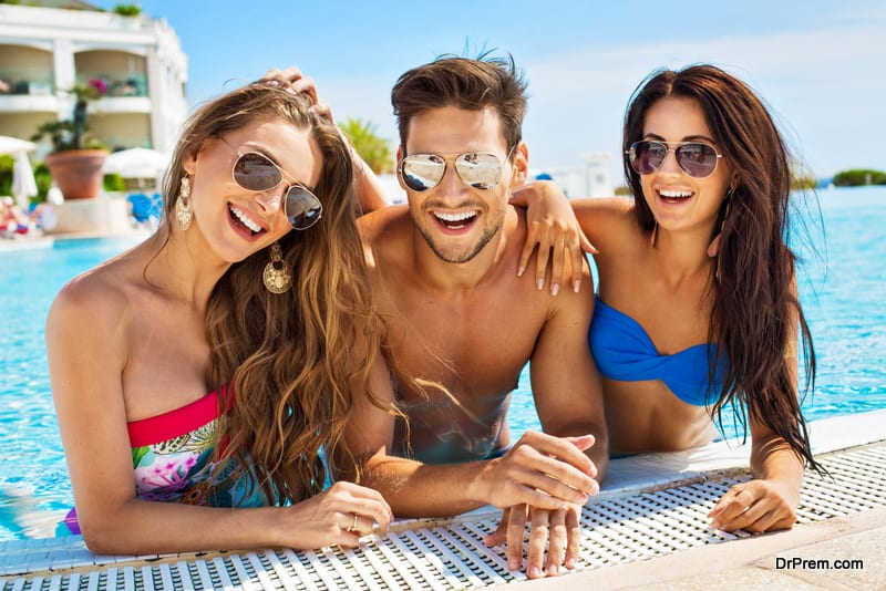 wear your shades while undergoing water activities