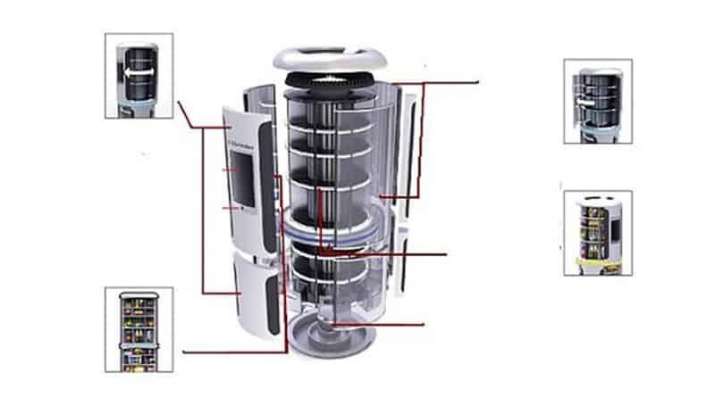 Axon Concept Refrigerator