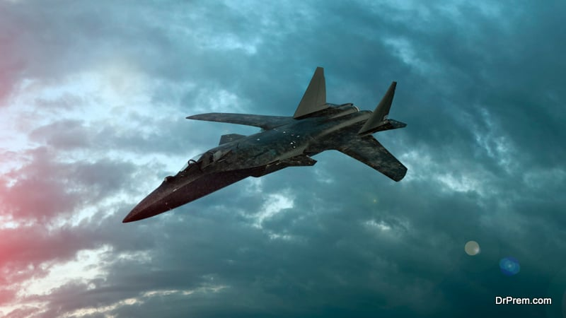 Bigger fighter planes, tanks and naval vessels deployed consume more fuel