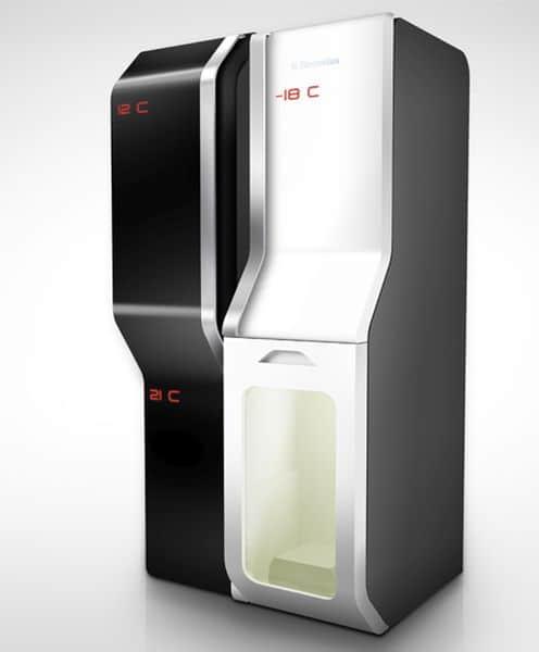 Futuristic Teleport Refrigerator by Dulyawat Wongnawa