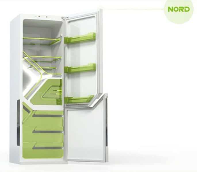Olga Kalugina has designed the Nord Fridge