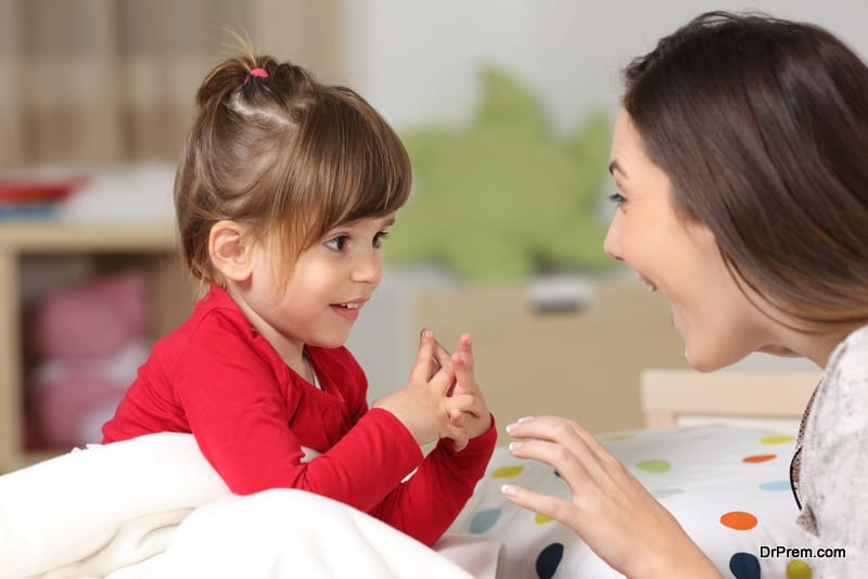 Communicate Thoroughly With Your Little One