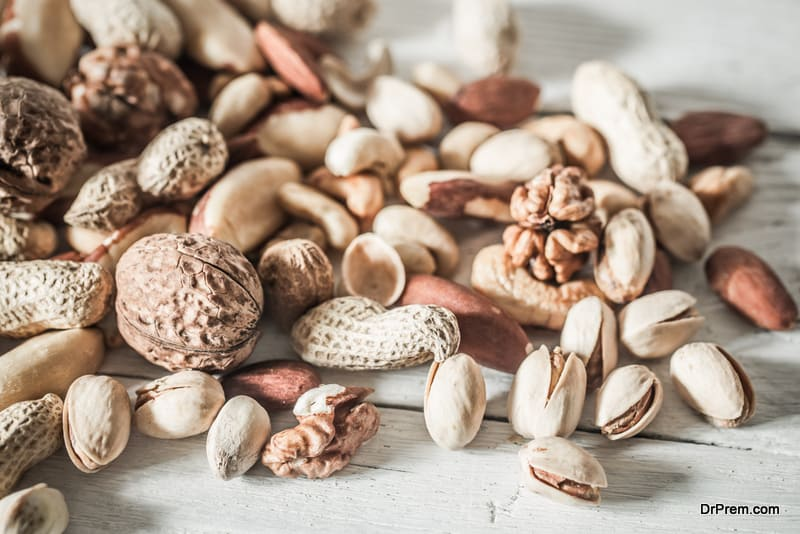 Raw nuts