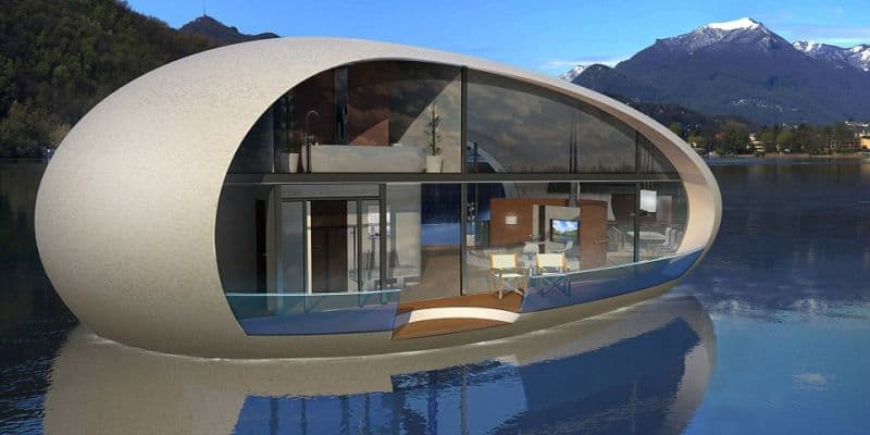 Giant Egg shaped Eco Houses