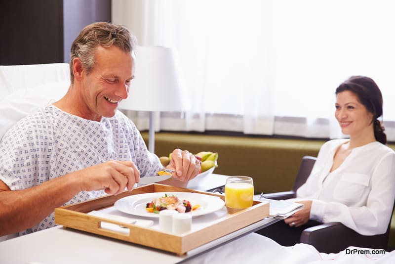 Modifications in hospital meal plans