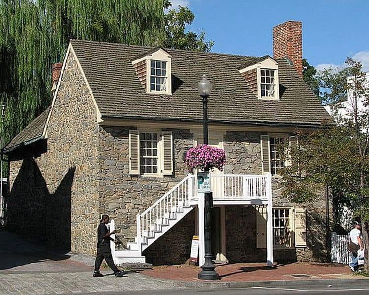 Old Stone House in Washington, D.C.
