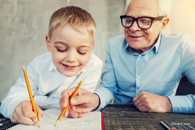 ask the elders to tutor your child