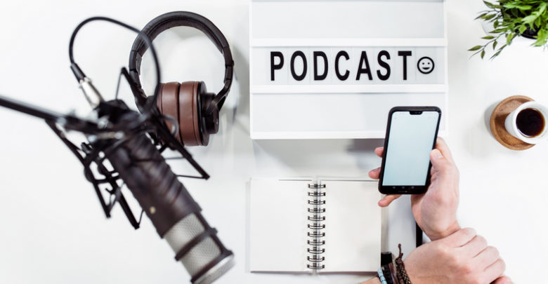 start your own podcast from home