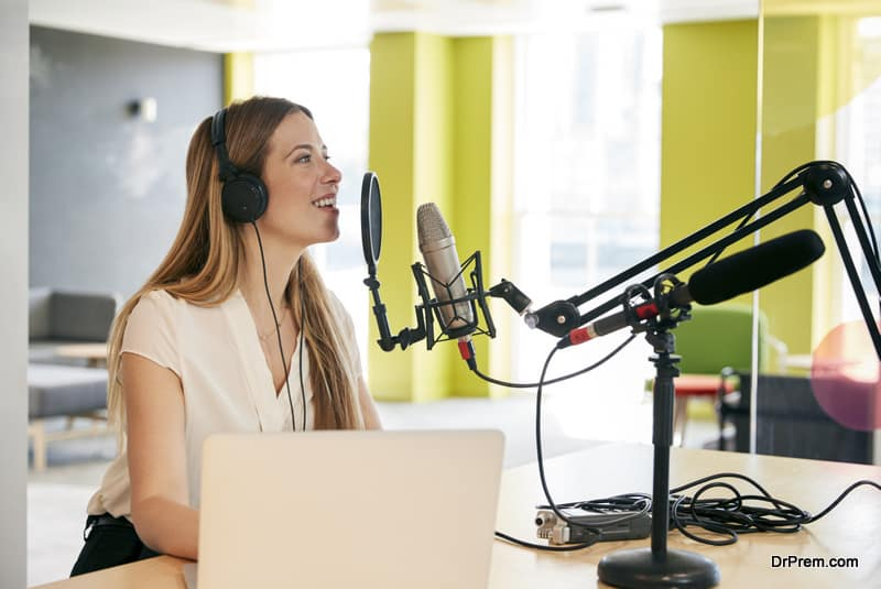want to be a podcaster