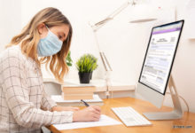 working from home due to coronavirus-outbreak