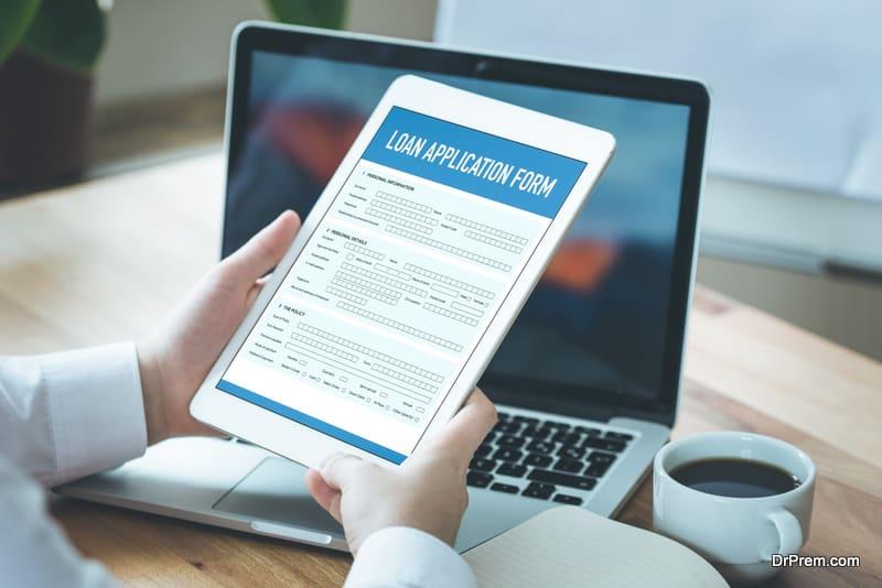 online loan application form