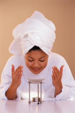 Using aromatherapy for common cold