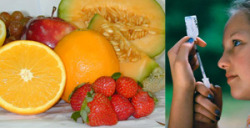 Let's take control of diabetes with fruits
