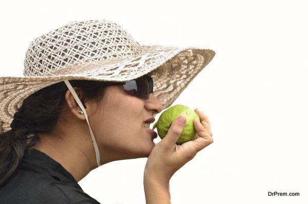 tasting Guava