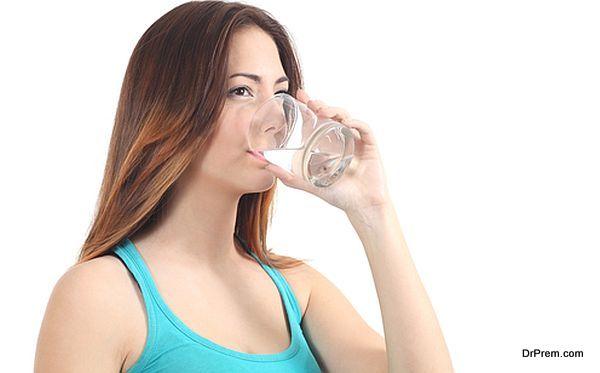 Drink plenty of water (1)