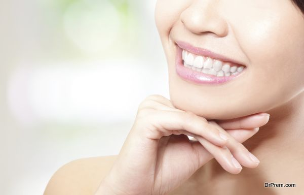 heathy tooth