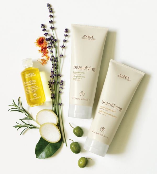Aveda beauty brand