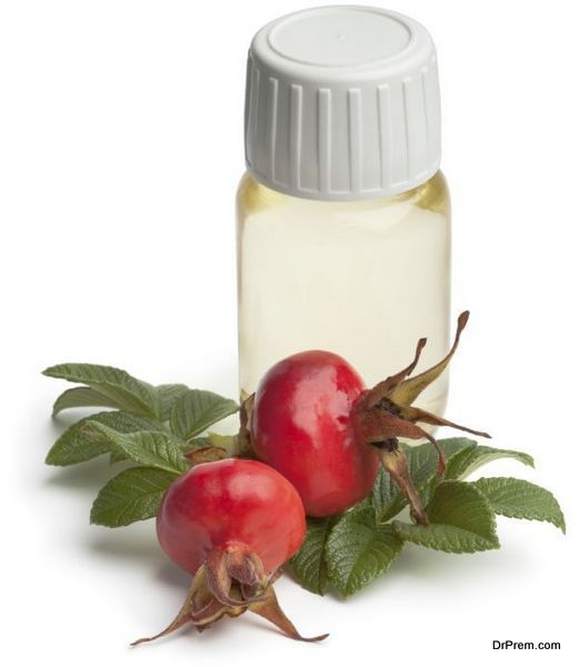 Bottle rose hip oil
