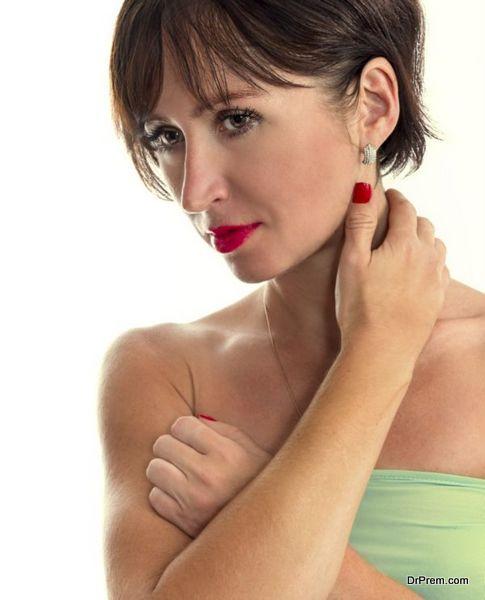 DIY Ear makeup ideas