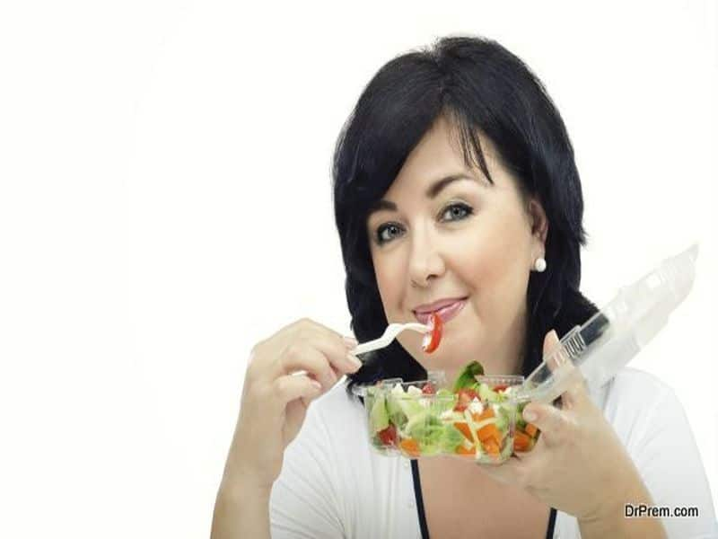 Consume food loaded with fibers