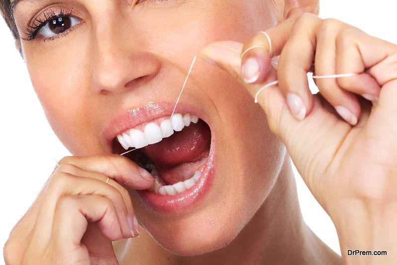 Clean between your teeth