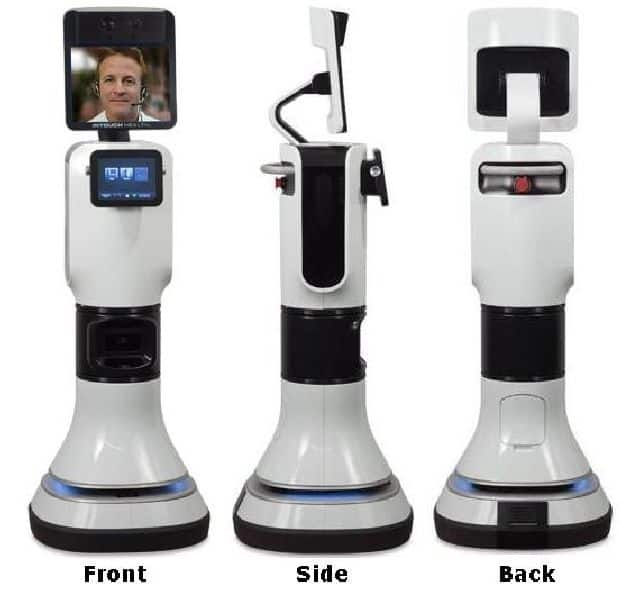 Robotic Telemedicine with InTouch Health and iRobot