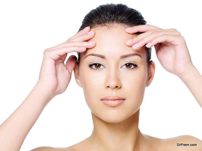 firmer forehead
