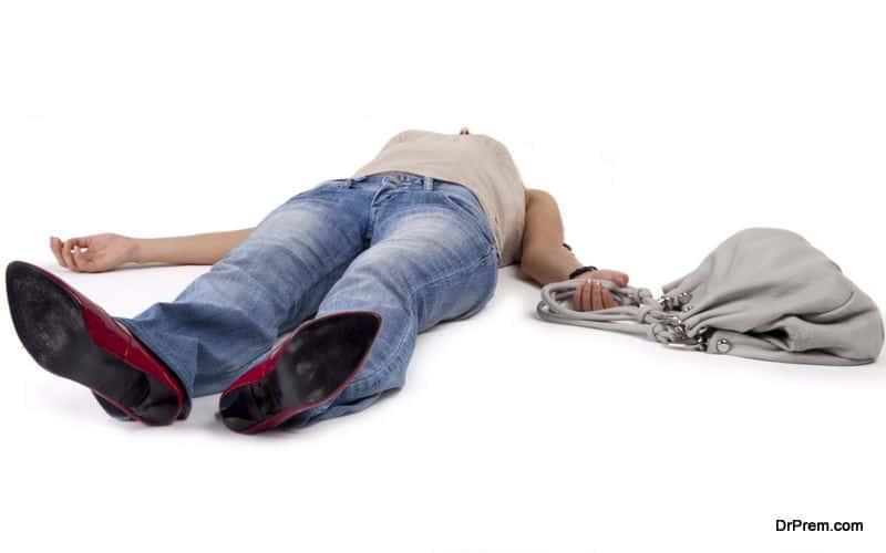 person unconscious