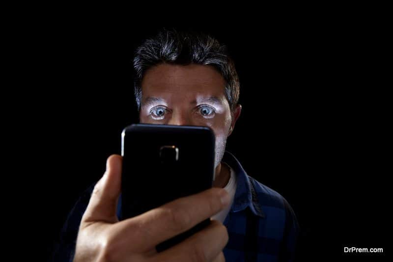 smartphone addiction affecting your vision