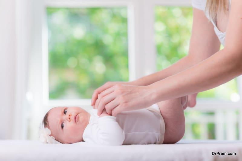 Treats diaper rash