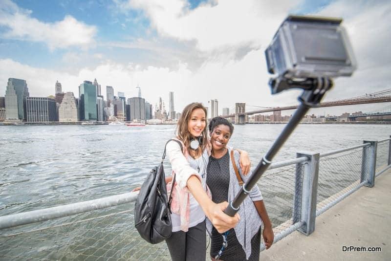 Selfie in New York