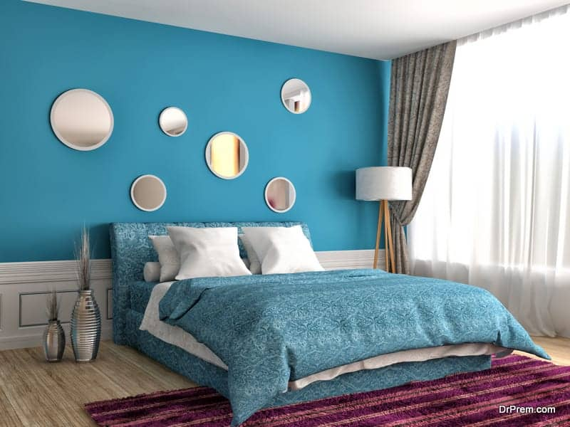 Paint bedrooms in nice colors