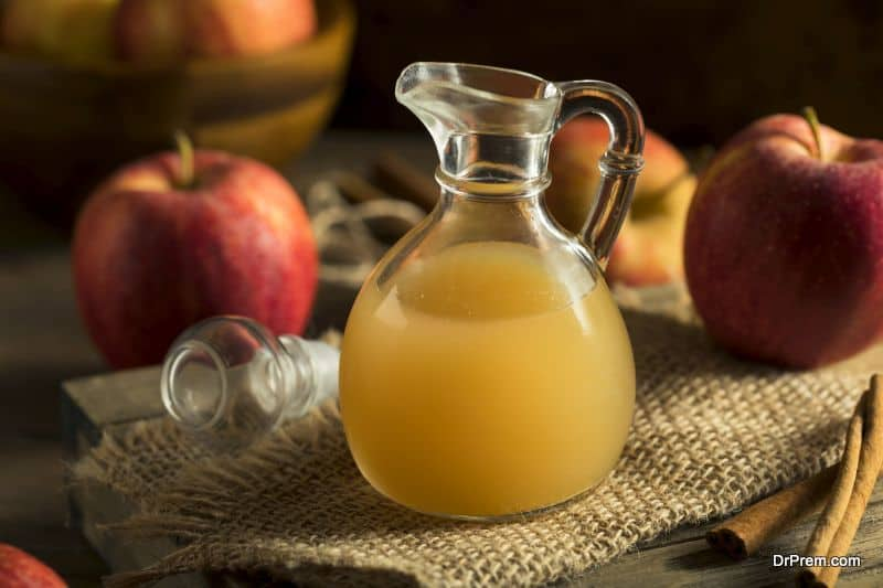 Making of Apple cider