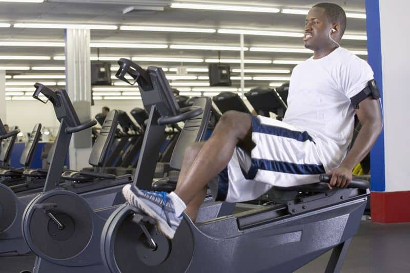 stationary recumbent bike