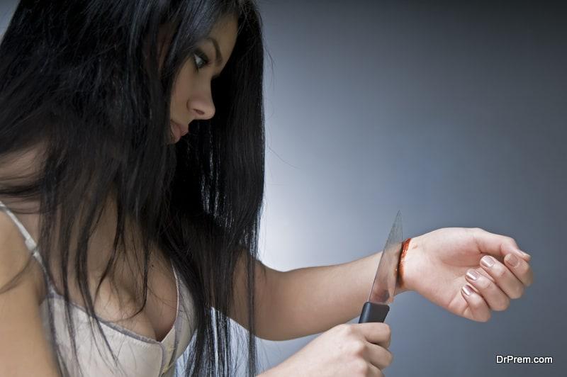 cutting of the wrist