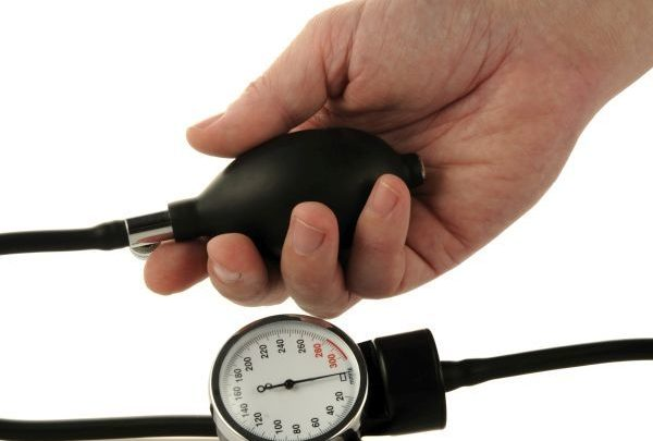 deal with high blood pressure