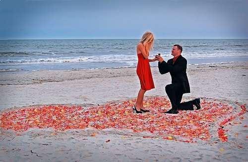 Dealing with several proposals in love