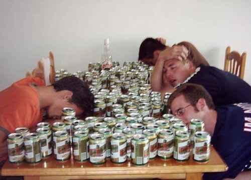 New Year hangovers