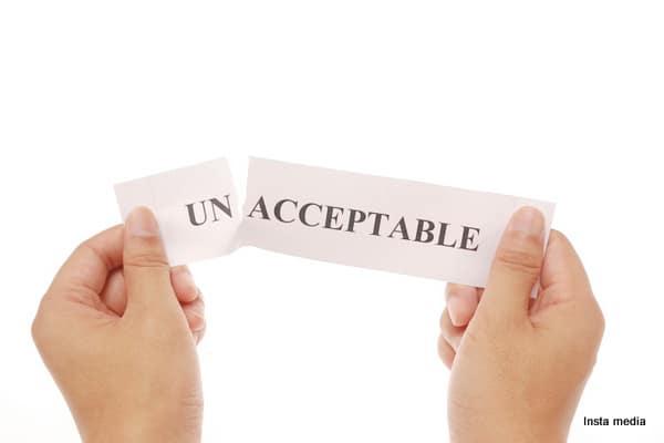 un-acceptable