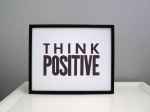 Want Success, Think Positive
