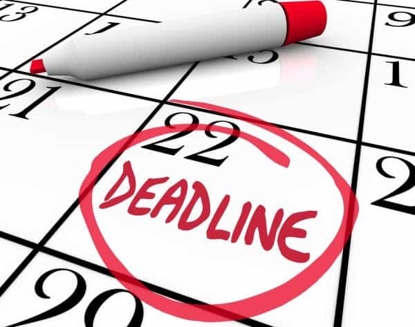 set Deadlines for your every task