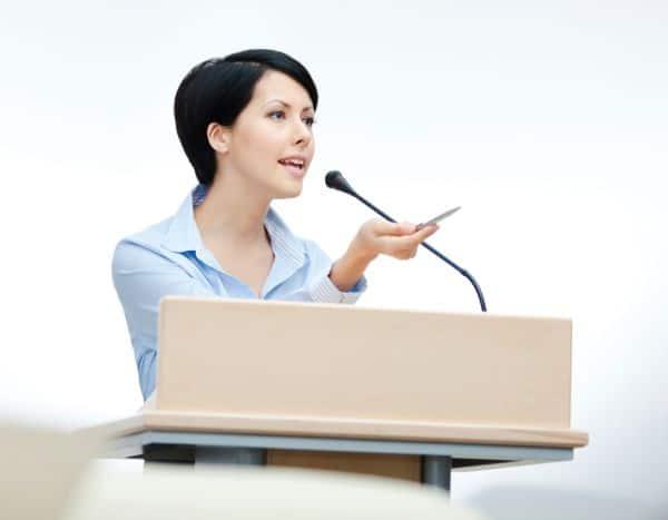 Use strong speech