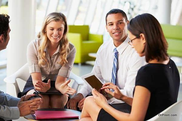 Invite fewer disturbances at work