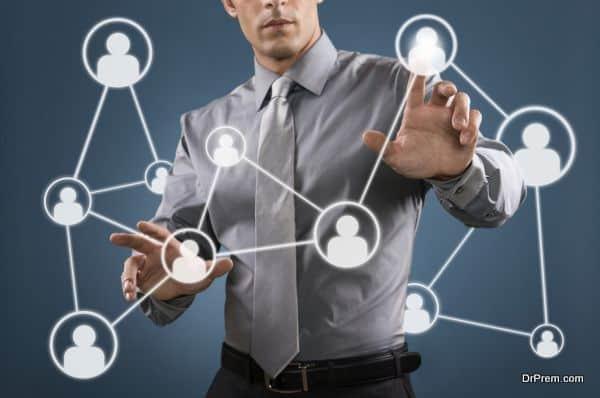 Utilize the social network