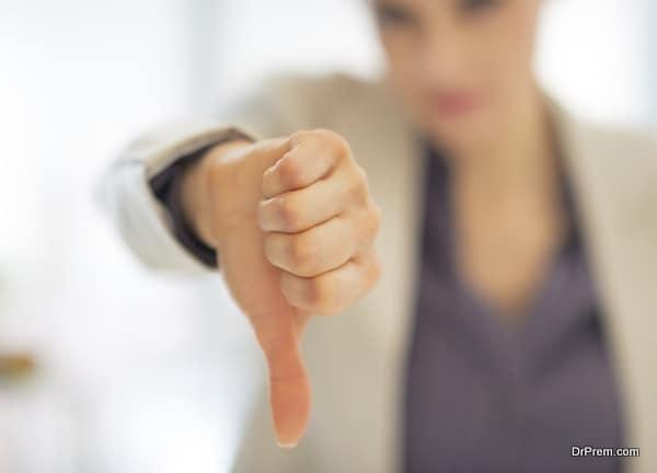 Negative people instigate negativity