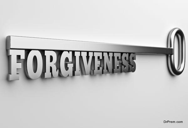 The word Forgiveness key