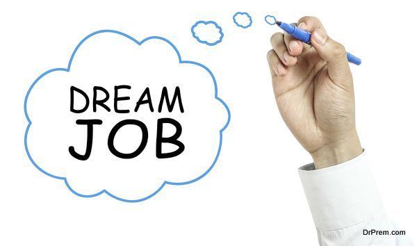 my dream job as to be businesswomen